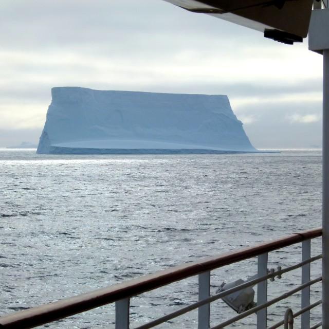 """""""Iceberg ahoy"""" stock image"""