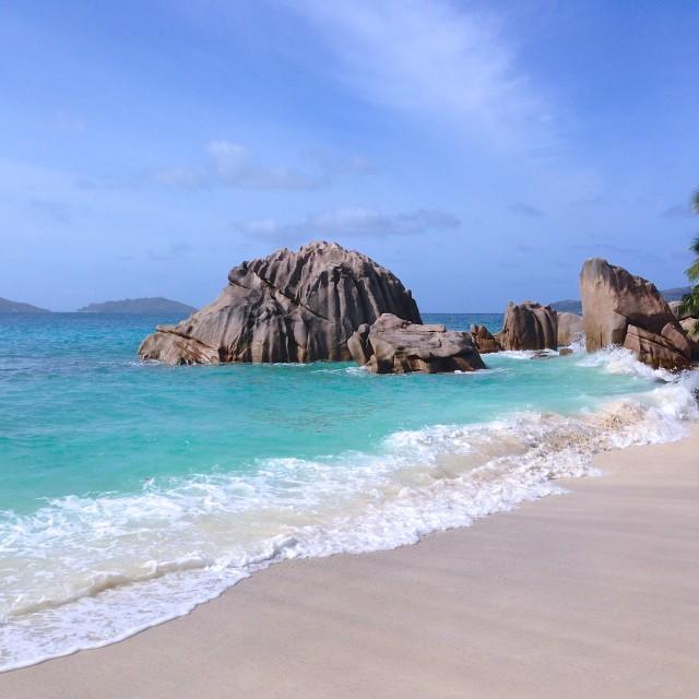 """La Digue, Seychelles"" stock image"