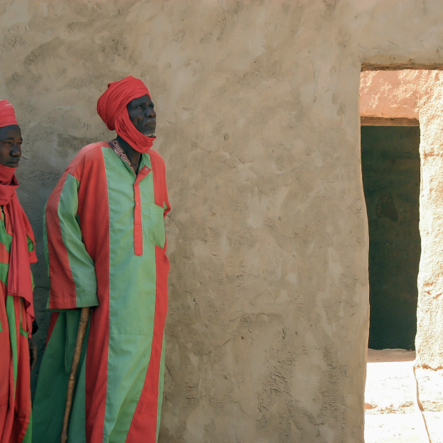 """The Sultan's Men (Niger)"" stock image"