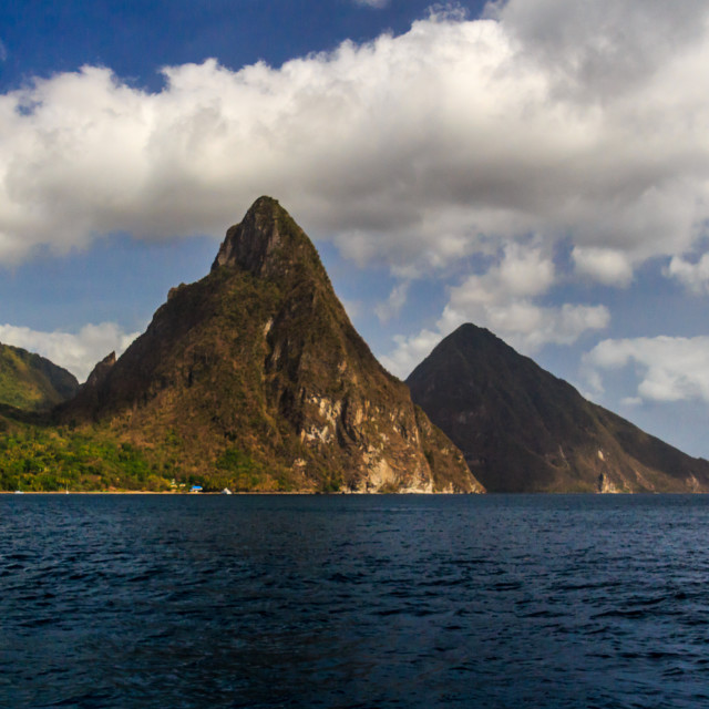 """Pitons"" stock image"