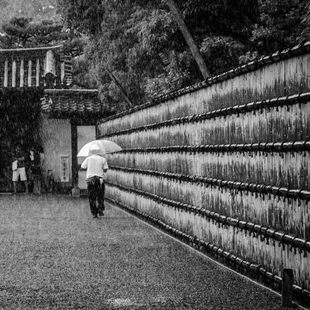 """Kyoto rain"" stock image"