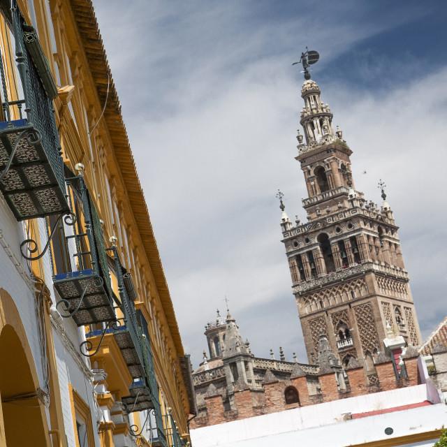 """""""Seville, Spain"""" stock image"""