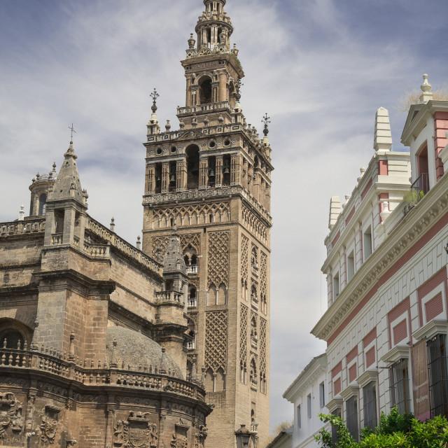 """La Giralda, Seville"" stock image"