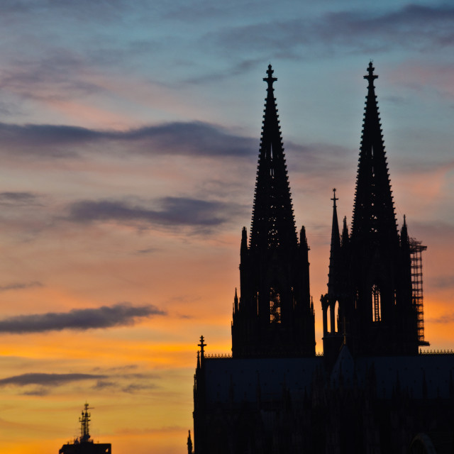 """""""The Dom, Cologne"""" stock image"""