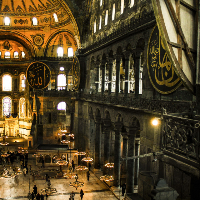 """Hagia Sophia- the Holy Wisdom"" stock image"
