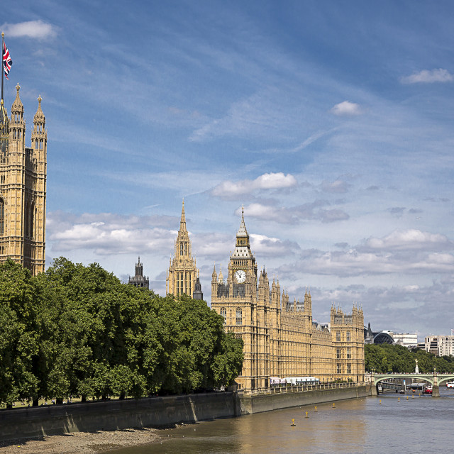 """""""Houses of Parliament London"""" stock image"""