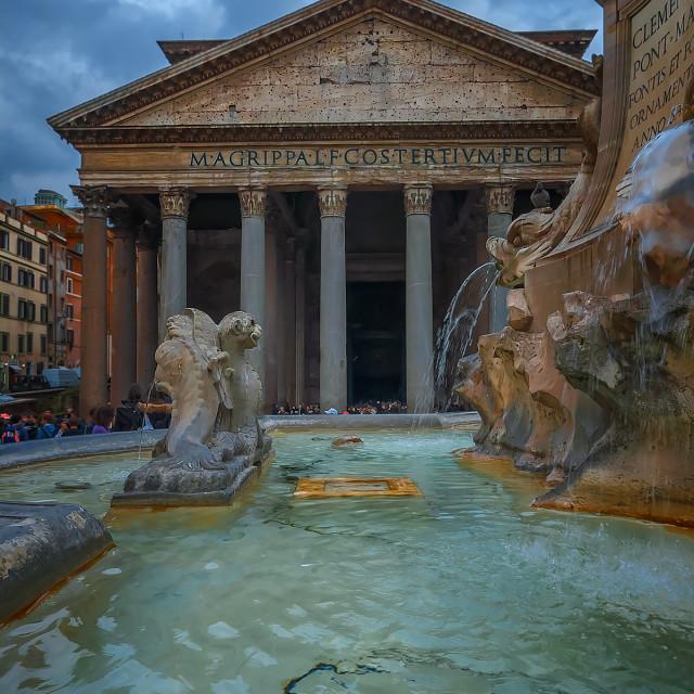 """Pantheon, Rome"" stock image"
