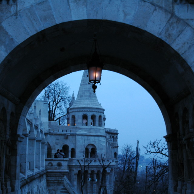 """Fisherman's Bastion in Budapest"" stock image"
