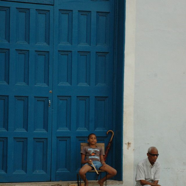 """Cuban chill"" stock image"