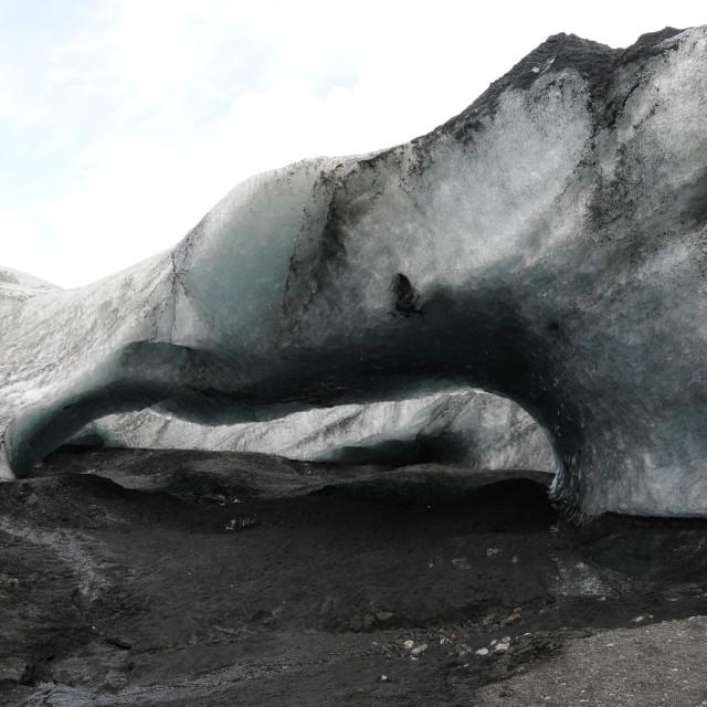 """Iceberg in Iceland"" stock image"