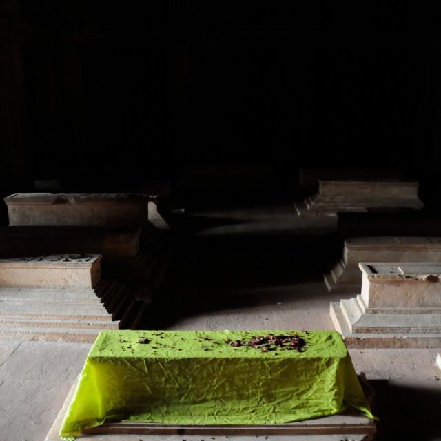 """Fatehpur Sikri graves"" stock image"