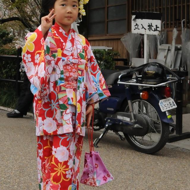 """Little geisha"" stock image"