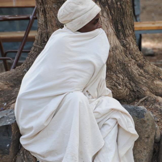 """""""Ethiopian lady"""" stock image"""