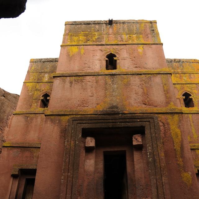 """Lalibela Church"" stock image"