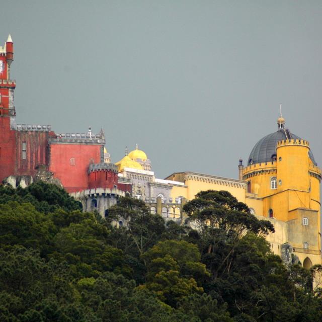 """Pena Palace, Sintra"" stock image"