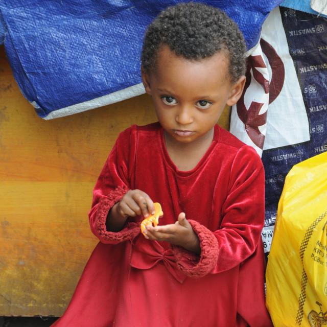 """""""Ethiopian girl"""" stock image"""