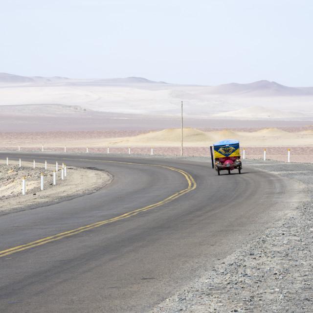 """""""Atacama tuk-tuk"""" stock image"""