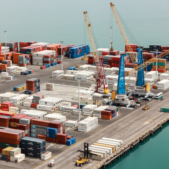 """container wharf"" stock image"