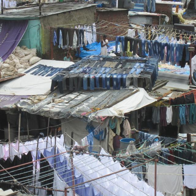 """Dhobi Ghat"" stock image"