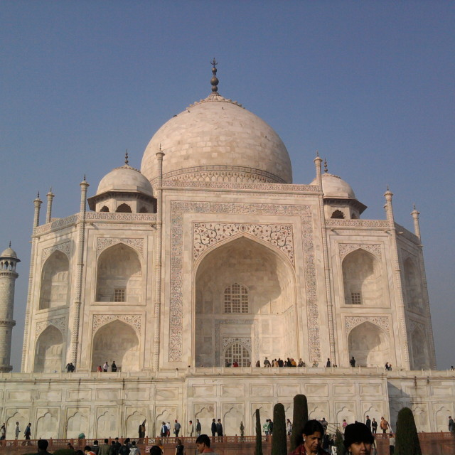 """The Taj"" stock image"