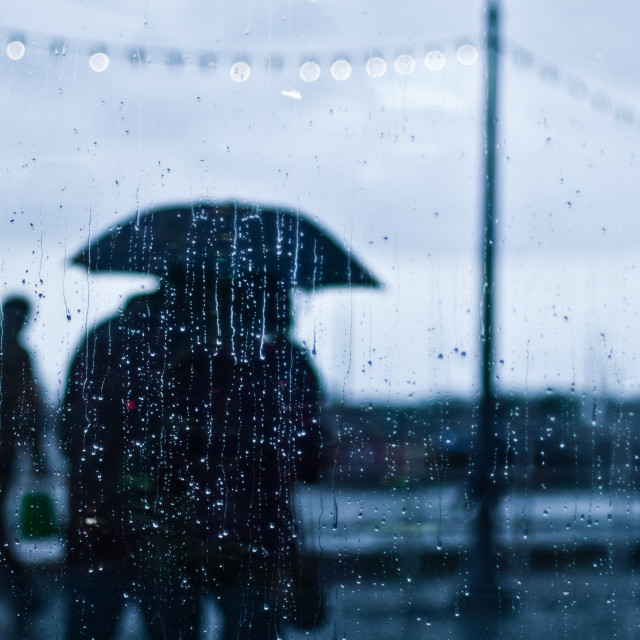 """Don't forget your umbrella"" stock image"