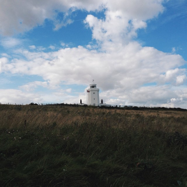 """South Foreland Lighthouse"" stock image"
