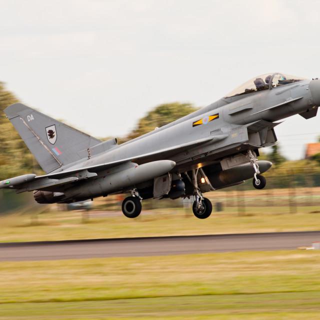 """Typhoon takeoff"" stock image"