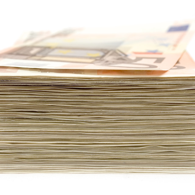 """Stack of Banknotes"" stock image"