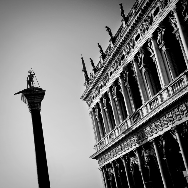 """St Marco Square, Venice"" stock image"