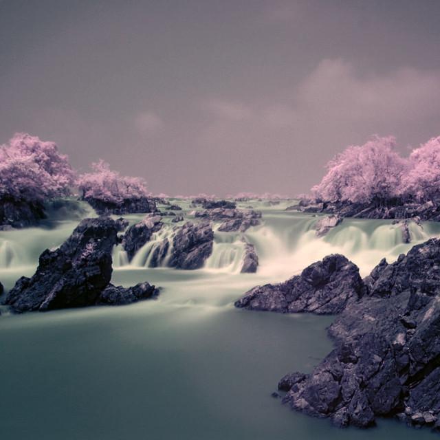 """Khone Phapeng Waterfall"" stock image"