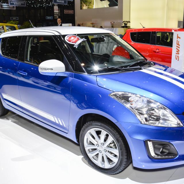"""Geneva Motor Show"" stock image"