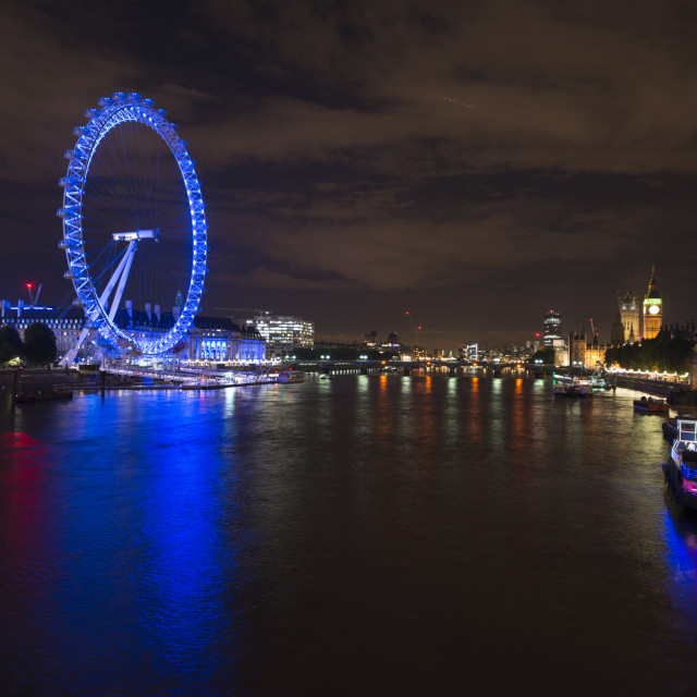 """River Thames"" stock image"