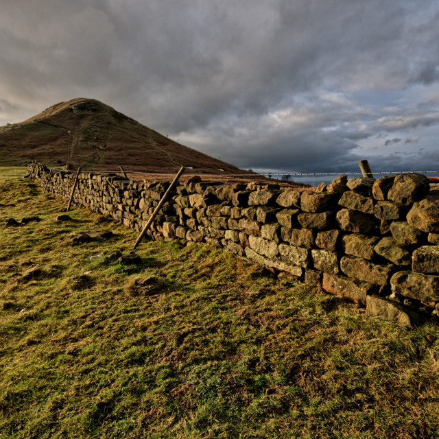 """Roseberry Topping"" stock image"