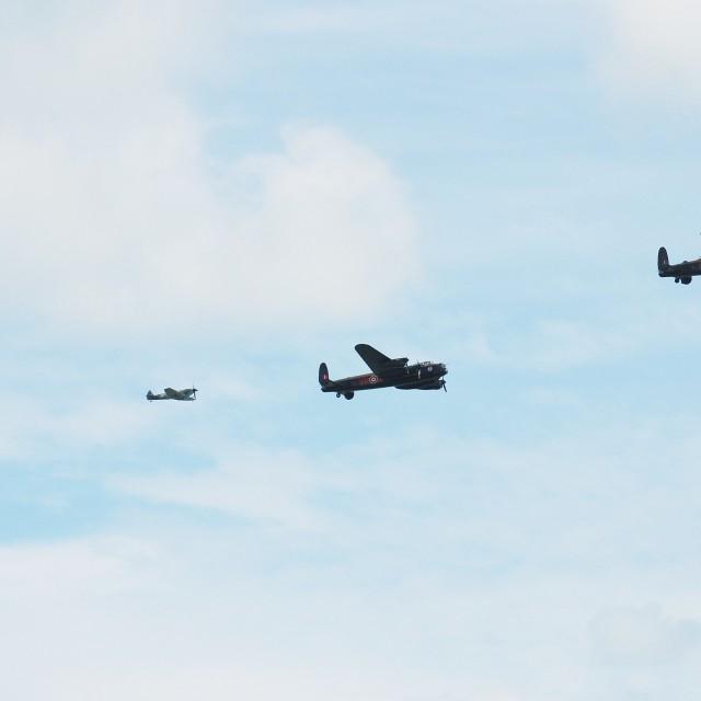 """Battle of Britain Memorial Flight"" stock image"