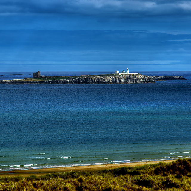 """The Farne Islands"" stock image"