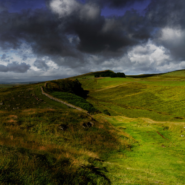 """Northumberland National Park."" stock image"