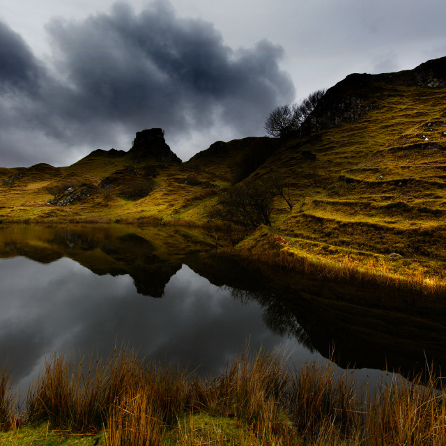 """The Fairy Glen"" stock image"