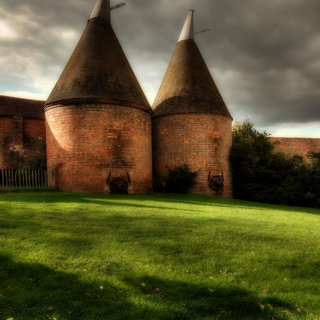 """Oast House"" stock image"