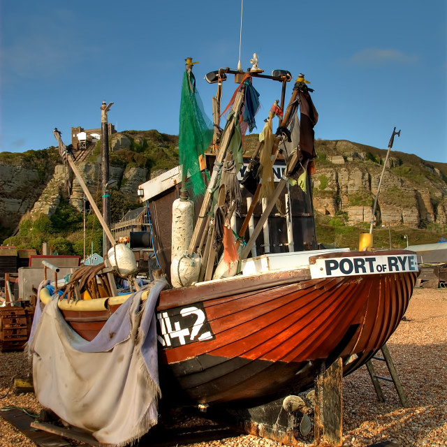 """Port Of Rye"" stock image"