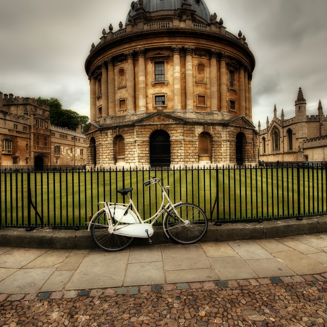"""Radcliffe Camera, Oxford."" stock image"