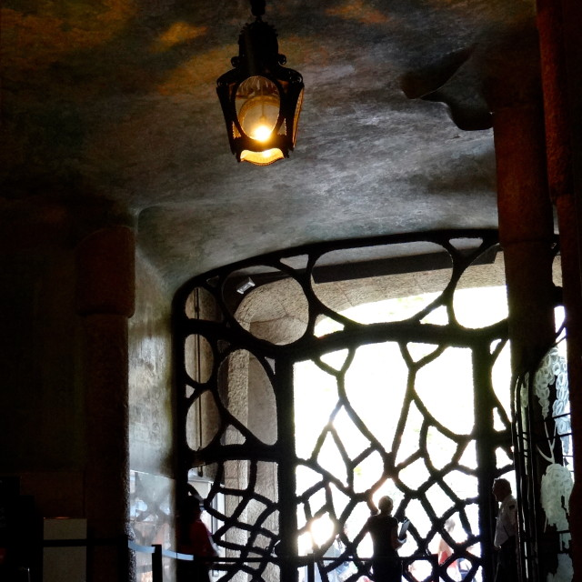 """Gaudi's Casa Mila"" stock image"