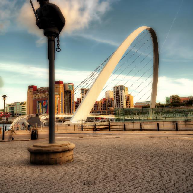 """Newcastle Quays"" stock image"