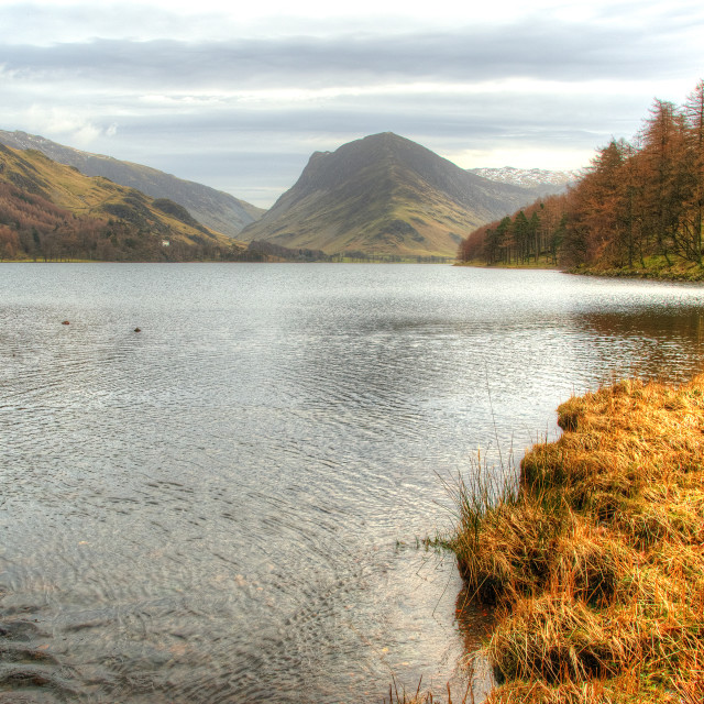 """Buttermere, Lake District"" stock image"