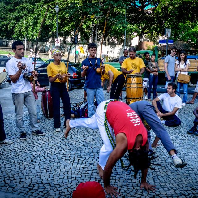 """Capoeira Angola"" stock image"