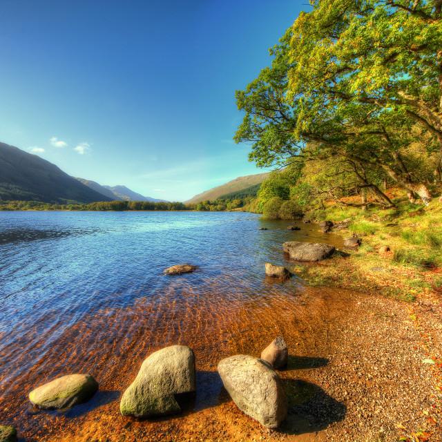 """Loch Voil"" stock image"