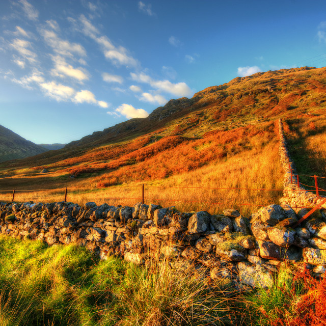 """Glen Lyon"" stock image"