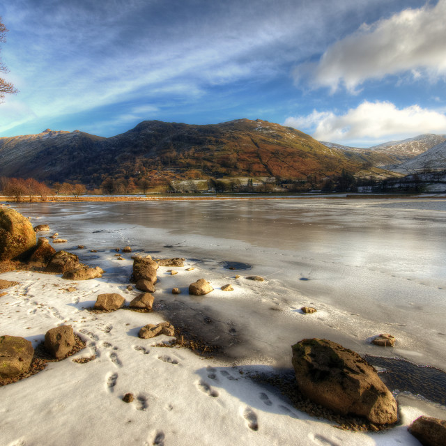 """Brothers Water, Lake District"" stock image"
