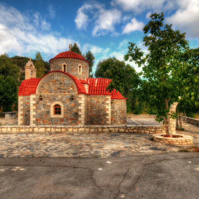 """Greek Orthodox Church"" stock image"
