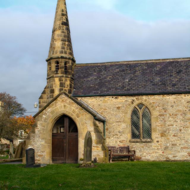 """St John's Church"" stock image"
