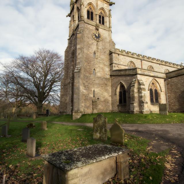 """St Andrews Church"" stock image"